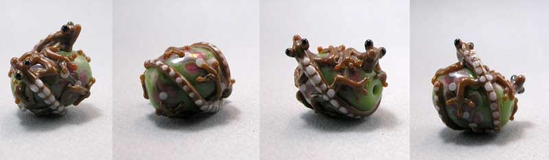 Double Salamander bead